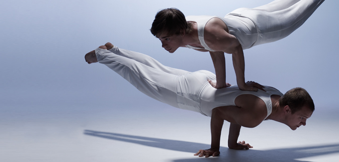 Healthcare web banner for acrobats
